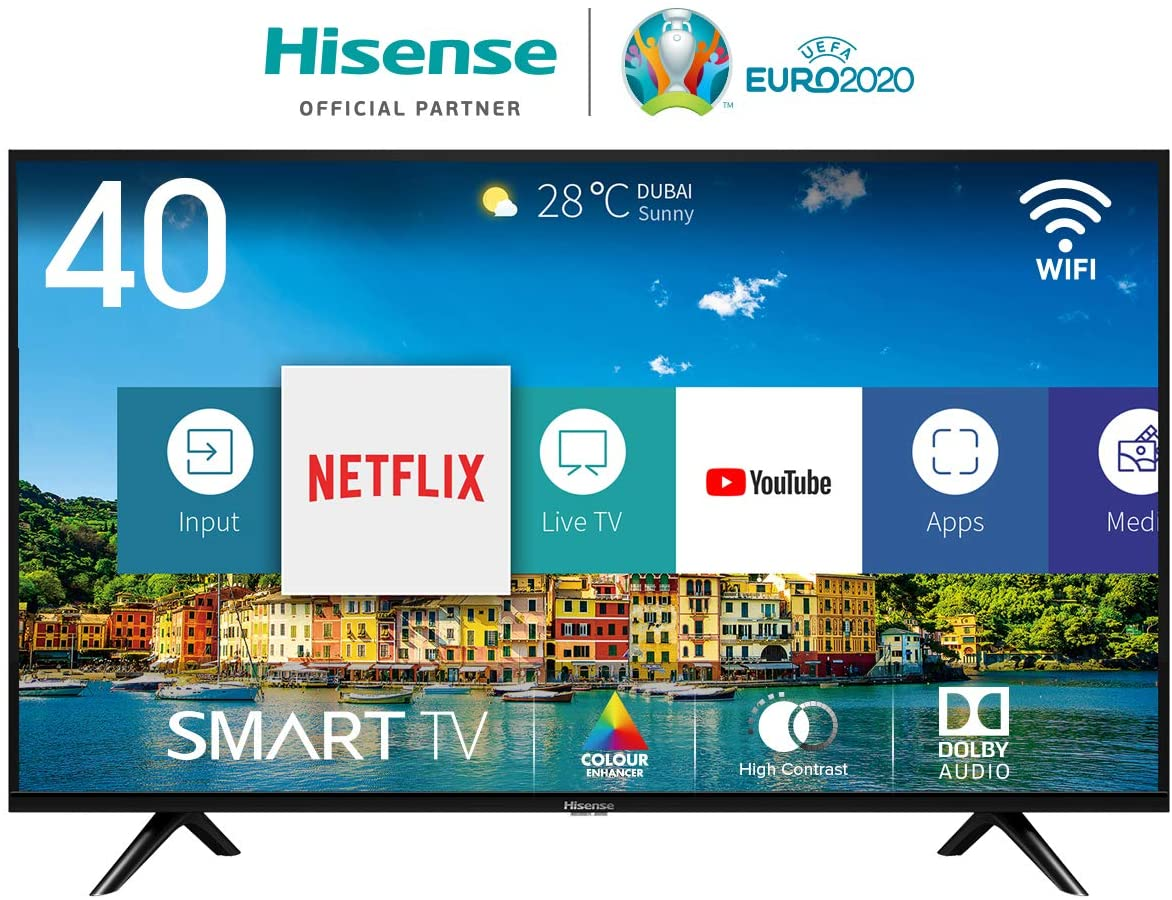 Recensione Hisense H40BE5500 Smart TV LED Full HD