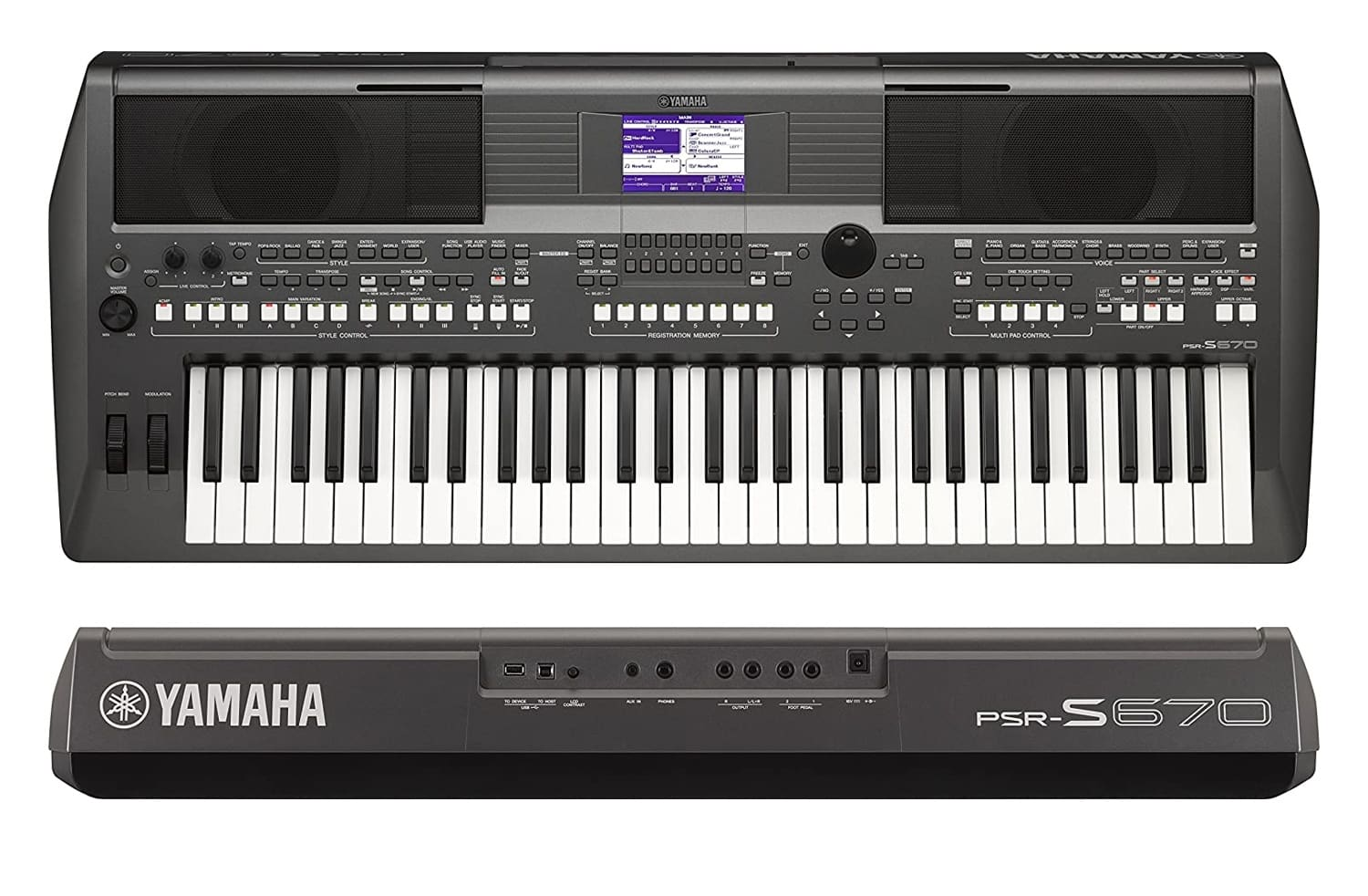 migliori arranger Yamaha Digital Keyboard PSR-S670