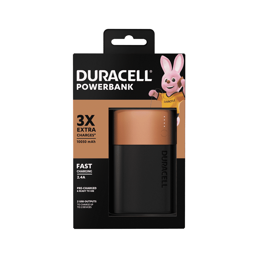 Duracell Power Bank 10050 mAh Recensione