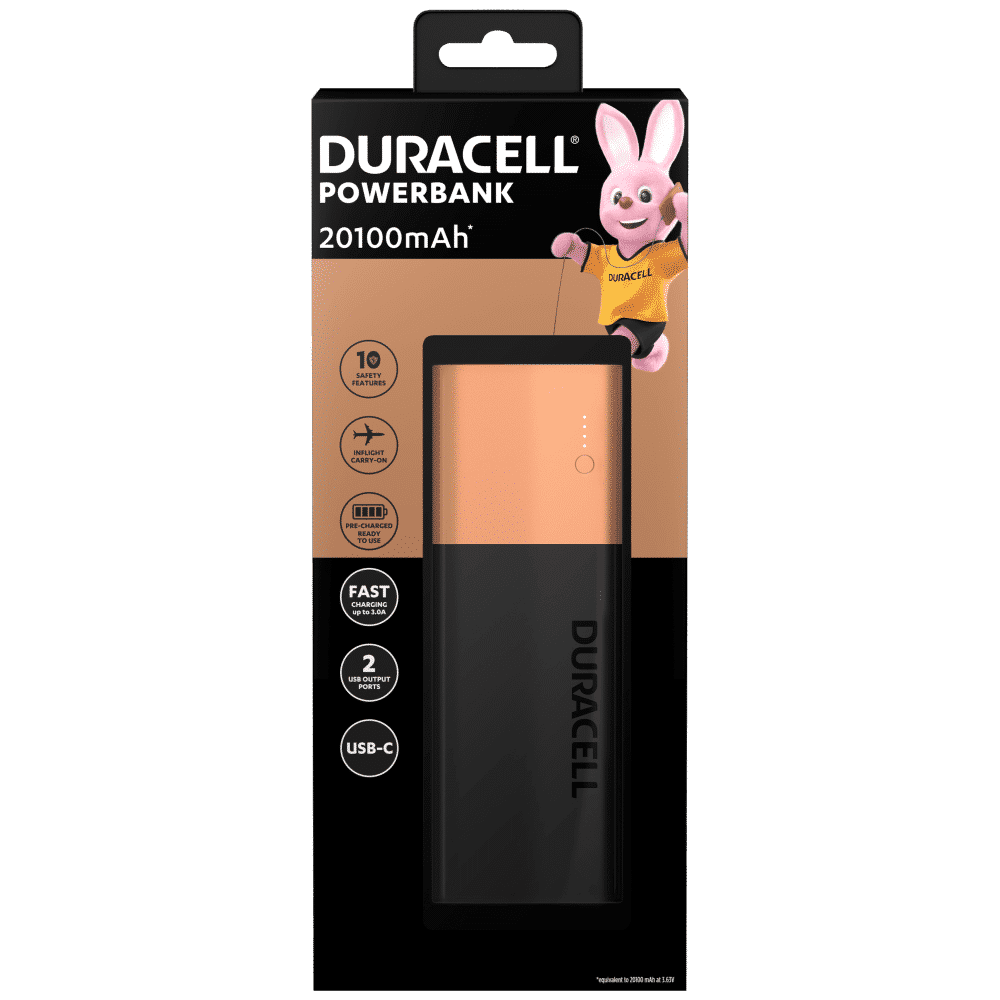 Duracell Power Bank 20100 mAh Recensione