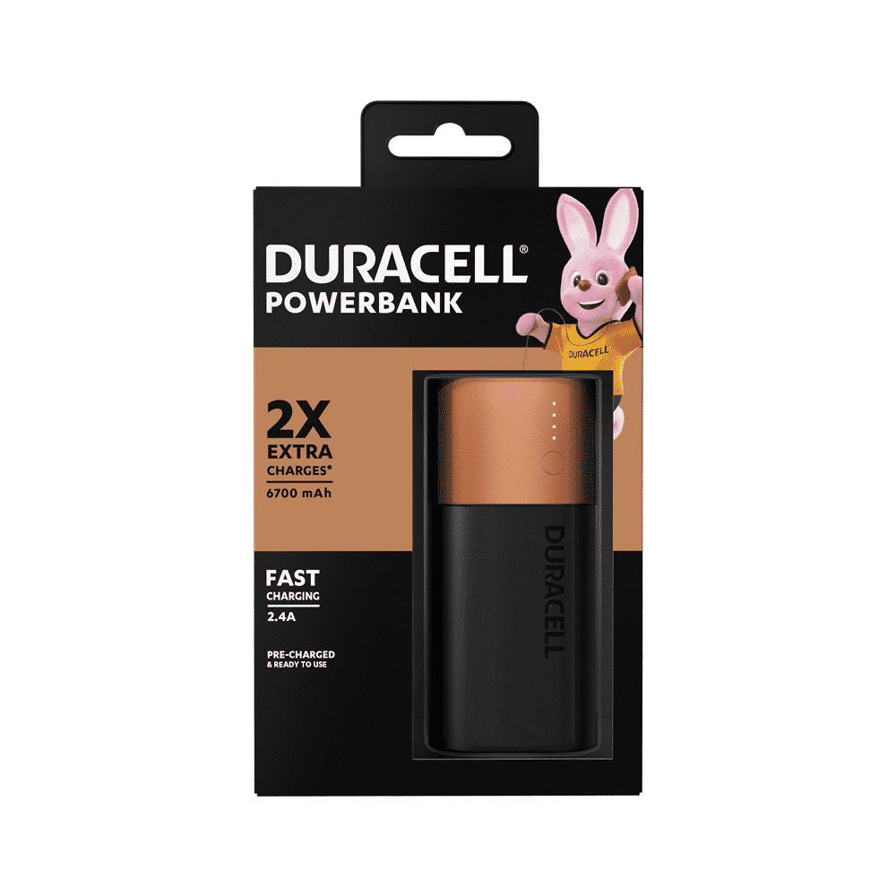 Duracell Power Bank 6700 mAh Recensione