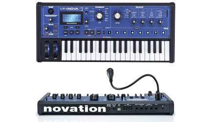 Synth Novation MiniNova 37 tasti Recensione